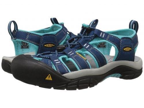 臭いスクランブルエレクトロニックKeen(キーン) レディース 女性用 シューズ 靴 サンダル Newport H2 - Poseidon/Capri 5.5 B - Medium [並行輸入品]