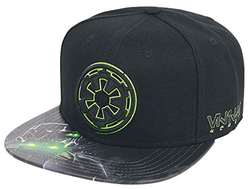Star Wars Empire Symbol Sublimated PU Bill Snapback Baseball ()