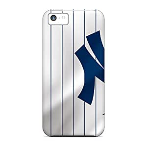 Iphone 5c Case Slim [ultra Fit] New York Yankees Protective Case Cover