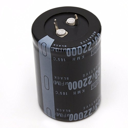 UTL 22000UF 63V Aluminum Electrolytic Capacitor 105 Celsius Dimension 35x50mm Cylindrical