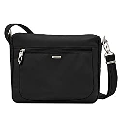 Travelon Anti-theft Classic Small Ew Crossbody Bag, Black