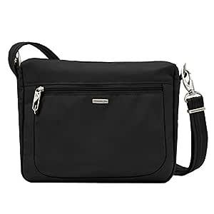 Travelon Anti-Theft Classic Small E/w Crossbody Bag, Black (Black) - 43115 500