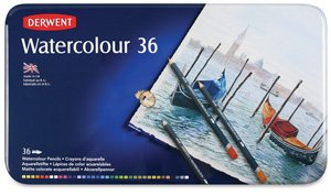Watercolor Pencils - Tin Box Set of 36