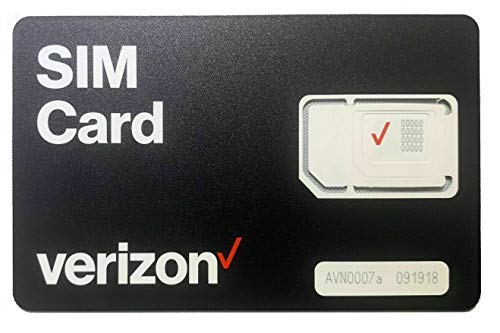 🥇 Verizon Wireless 4G LTE SIM Card – All 3 Sizes