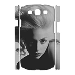 QSWHXN Lady Gaga Customized Hard 3D Case For Samsung Galaxy S3 I9300
