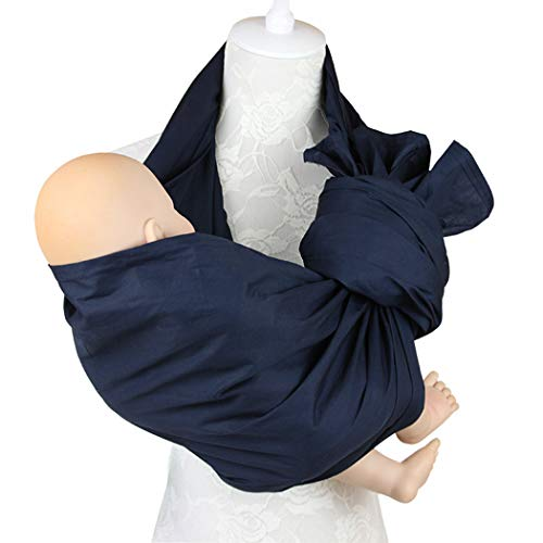Price comparison product image Zoylink Baby Carrier Wrap Carrier Sling Stretch Carrier for Newborn