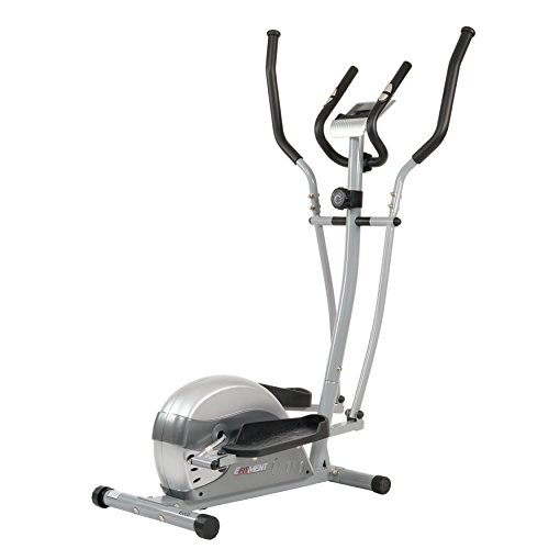 Check Out This EFITMENT E005 Compact Magnetic Elliptical Machine Trainer with LCD Monitor and Pulse ...