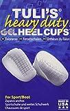 TuliGEL Heavy Duty Heel Cups, Large