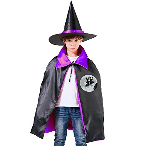 Futurama Halloween Witch Wizard Kids Cloak Cape For Children Boys Girls -