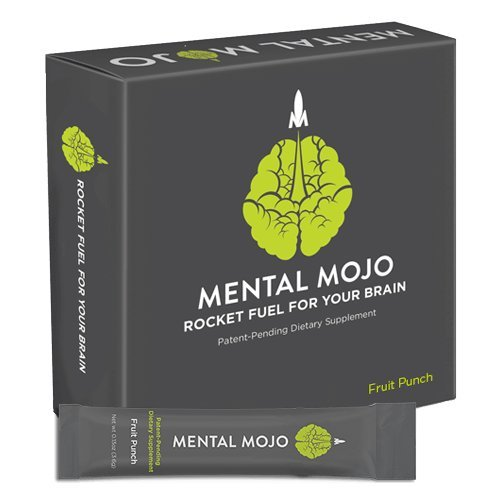 Mental Mojo Fruit Punch: Rocket Fuel For Your Brain.