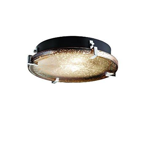 Justice Design Group Lighting FSN-5547-MROR-CROM-LED3-3000 Fusion - Clips 16