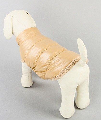 反動帝国不可能な【Y's factory】 DOG 愛 犬 あったか お散歩 ウェア ダウン 風 ベスト コート ジャンパー 秋 冬