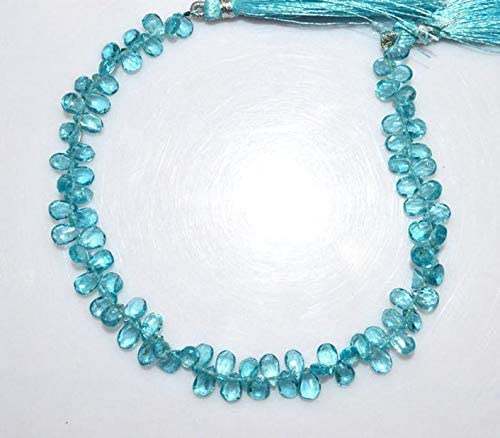 1 Strand Natural Faceted Pear ShapeGemstone Pear Faceted Beads6 to 12 mm 8 Inch Strand  Pear Beads Beads For Jewelry Making