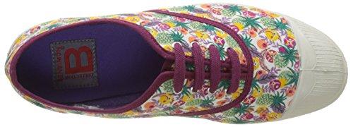 Fruite Imprime Baskets Multicolore Lacet Tennis Bensimon Liberty Basses Femme fxt8O0qw