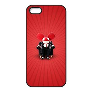 High Quality Specially Designed Skin cover Case deadmau5 5 iPhone 4 4s Cell Phone Case Black