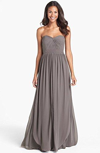 Amazon.com : Jenny Yoo \'Aidan\' Convertible Strapless Chiffon Gown ...