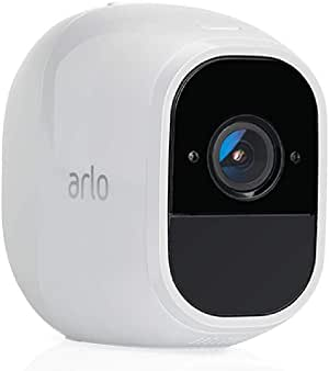 Arlo Pro 2 (1) Add-on Camera   Rechargeable, Night vision, Indoor/Outdoor, HD Video 1080p, Two-Way Talk, Wall Mount   Cloud Storage Included   Works with Arlo Pro Base Station (VMC4030P)