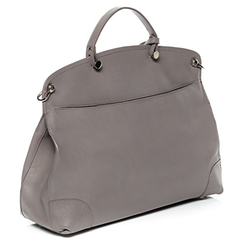 amp; bag tote BACCINI black shoulder bag cross handbag body bag Mauve leather large NOEMI tSWZwTxqB