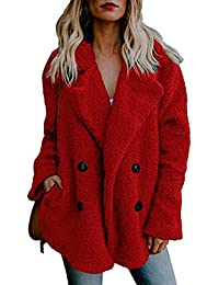 Women's Fashion Faux Fur Coats Warm Winter Coats