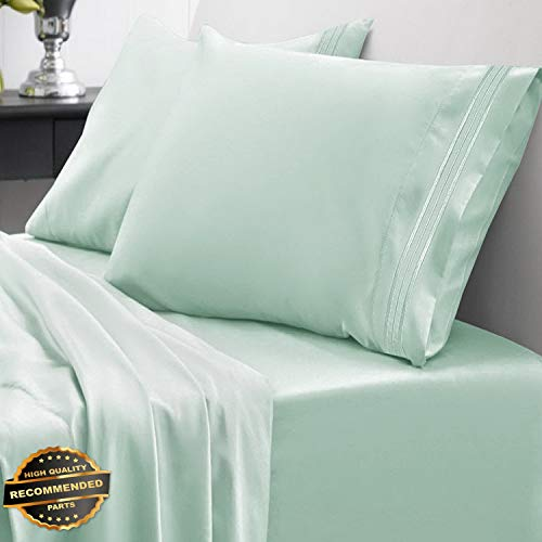 Gatton New Premium 1800 Thread Count Bed Sheet Set Brights Sweet Home Spring/Summer Collection | LINENIENHM-182011399 Full