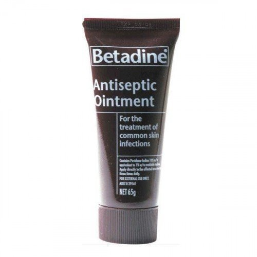 Betadine Ointment 65g (3 Pack) by Betadine