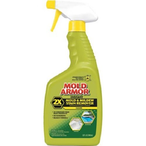 Home Armor FG502 Instant Mold and Mildew Stain Remover, Trigger Spray 32-Ounce (2 Pack)