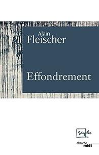 Effondrement par Alain Fleischer
