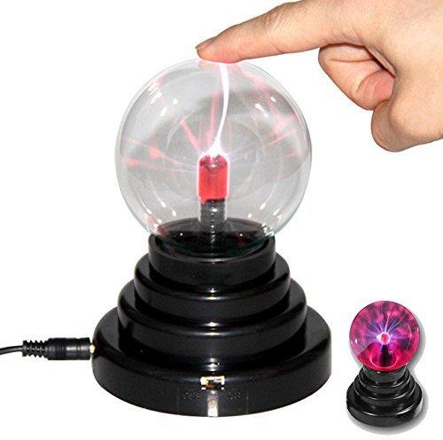 YiaMia® Toys for kids, magic toys,Magic Crystal Plasma Light Ball Electrostatic Induction Lamp Party Decoration ,boy toys (Crystal Globe Desktop)
