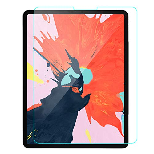 Ztotop Screen Protector for iPad Pro 11-inch 2018, [1 Pack] High Definition/Scratch Resistant/Apple Pencil Compatible 9H Tempered Glass Screen Protector for iPad Pro 11 Inch (2018 Release)