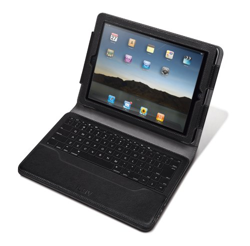 iLuv iCK826BLK Professional Case with Detachable Keyboard for Apple iPad 4,  iPad 3, 2nd Gen. iPad 2 WiFi / 3G Model 16GB, 32GB, 64GB  Model (Black)