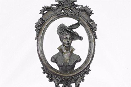 Handcrafted bronze sculpture SALE Garden In Girl Souther Patoue Original Decor