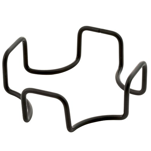 Thirstystone Square Wrought Iron Holder, Black