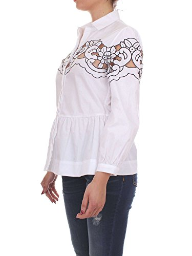 Camicia Donna Pinko 44 Bianco Accattivante 1/7 Primavera Estate 2017