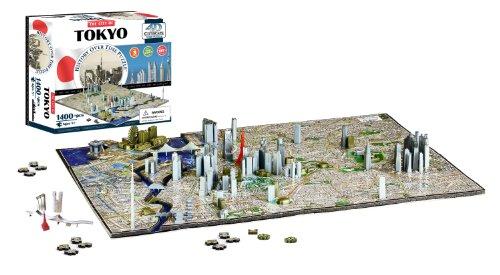 (4D Cityscape Tokyo Time Puzzle)