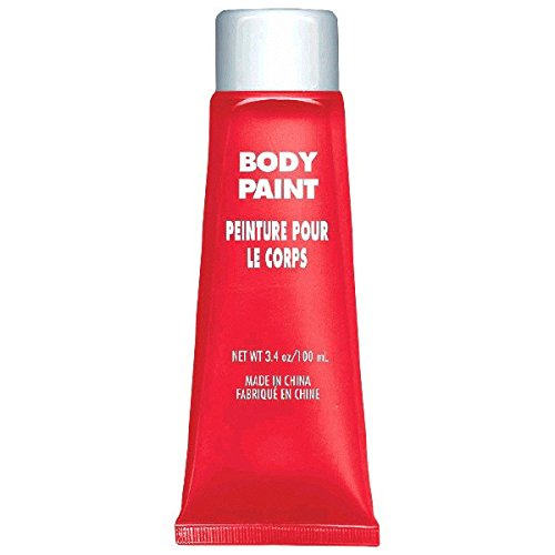 Amscan Body Paint, Party Accessory, Red -