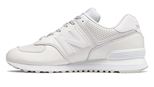 New Balance Homme White pour 574 ML574 Chaussures cfcBZ4U