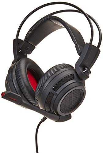 Connector Circumaural Headphone - MSI Gaming Headset with Microphone - DS502 Gaming Headset