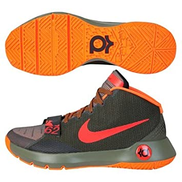 956a49f0ad1 Nike KD Trey 5 III Basketball Shoe - Medium Olive Bright Crimson   Amazon.co.uk  Sports   Outdoors