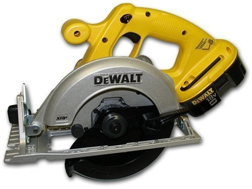 DeWalt DC390K 6-1/2 inch 18 Volt Heavy-Duty XRP™ Cordless Circular Saw Kit