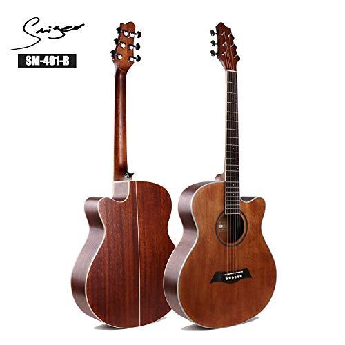 SUNXK 40 Pulgadas Estudiantes de Guitarra Guitarra Popular Entrada ...
