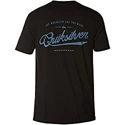 Quiksilver Mens Be Right Back Short-Sleeve Shirt