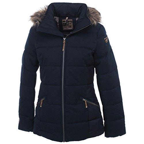 ICEPEAK Damen Winterjacke blau 40 44p3o3w