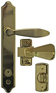 Ideal Security Inc Sk1215bb Deluxe Storm Door Handle Set