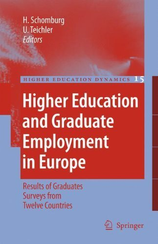 Higher Education and Graduate Employment in Europe: Results from Graduates Surveys from Twelve Countries (Higher Education Dynamics) by Harald Schomburg (2010-11-29)