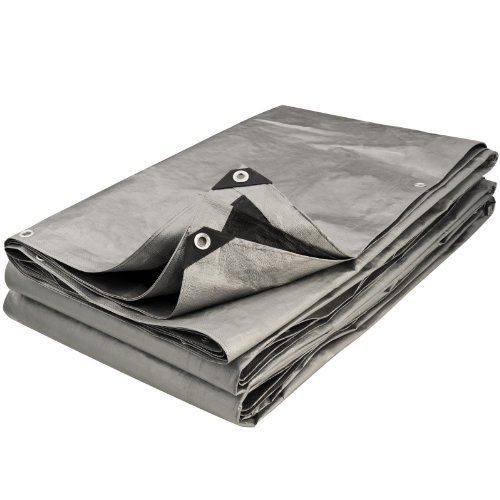 Provence Outillage 5083 Tarpaulin Grey and Black 3 x 2.40 m B007H8FLCA