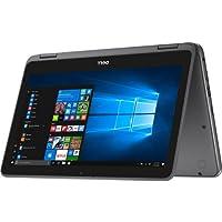 "2018 Dell Inspiron 11.6"" 2 in 1 HD Convertible Touchscreen Business Laptop/Tablet - AMD Dual-Core A9-9420e 8GB DDR4 512GB SSD AMD Radeon R5 MaxxAudio Bluetooth WLAN HDMI Webcam USB 3.1 Win 10-Gray"