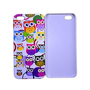 Cute Small Owl Picture Pc Case for iPhone 4/4S