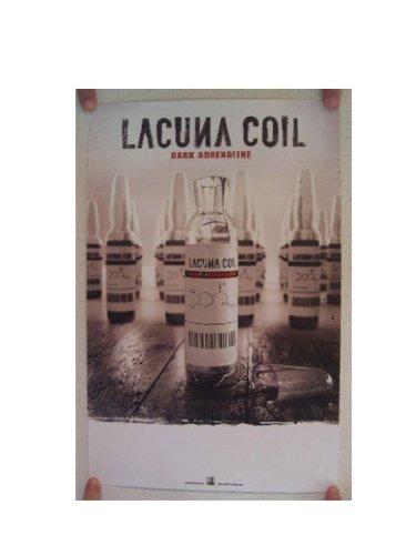 Lacuna Coil Poster Dark Adrenaline