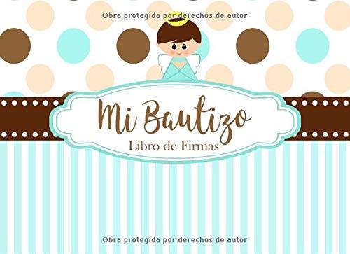 Amazon.com: Mi Bautizo Libro de Firmas: Recuerdos y Consejos ...