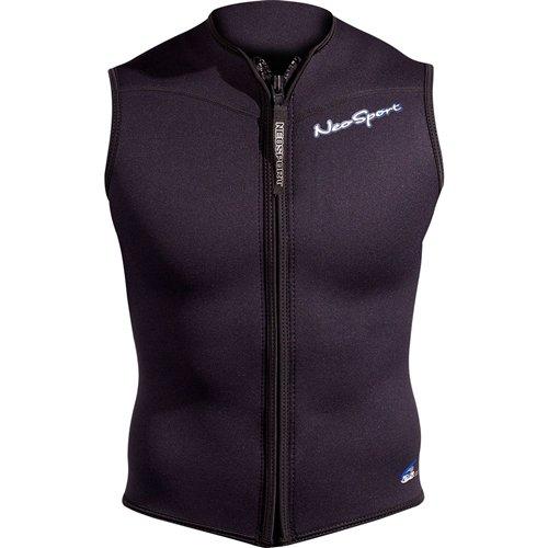 NeoSport Wetsuits Mens Premium Neoprene 2.5mm Zipper Vest Neosport by Henderson S125MF